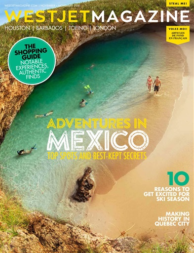 WestJet Magazine Preview