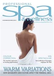 World Spa & Wellness Magazine Cover