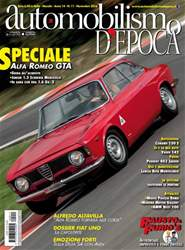 Automobilismo d'Epoca 11 2016 issue Automobilismo d'Epoca 11 2016