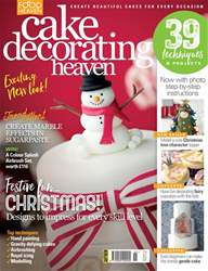 Cake Decorating Heaven November/December issue Cake Decorating Heaven November/December
