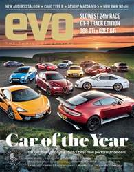 Car of the year issue Car of the year