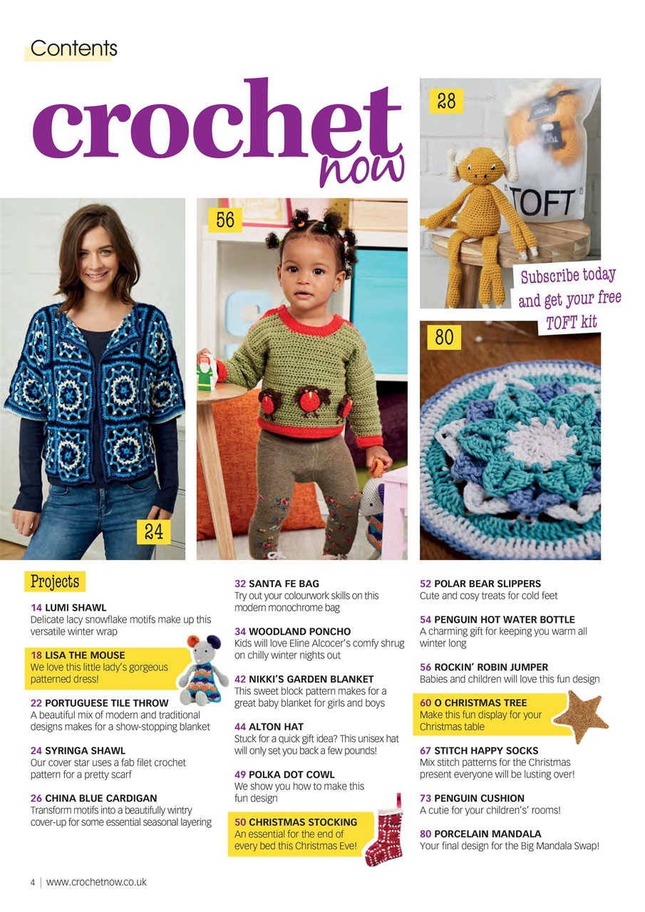 CROCHET NOW MAGAZINE ISSUE 14 RETAIL 12.99 NEW/UNREAD