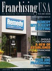 Franchising USA Magazine Cover