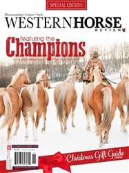 Western Horse Review Champions Edition issue Western Horse Review Champions Edition