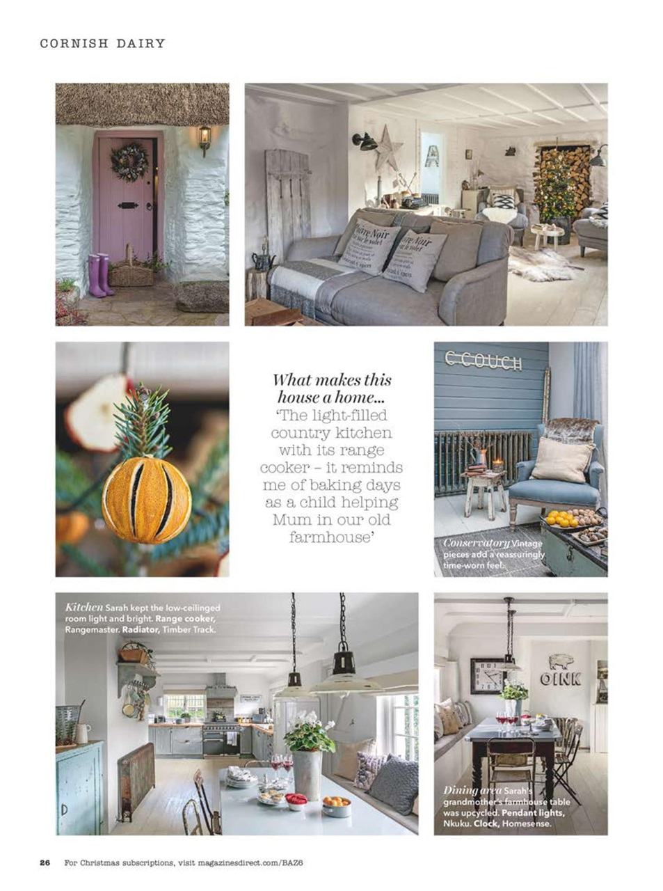 Country Homes Interiors Magazine December 2016