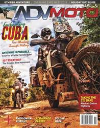 ADVMoto Nov/Dec 2016 issue ADVMoto Nov/Dec 2016