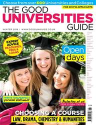 The Good Universities Guide Autumn 2016 issue The Good Universities Guide Autumn 2016