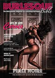 Burlesque Bible Magazine Cover