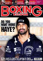 Boxing Monthly January 2012 issue Boxing Monthly January 2012