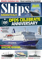 No. 625 DFDS Celebrate Anniversary  issue No. 625 DFDS Celebrate Anniversary