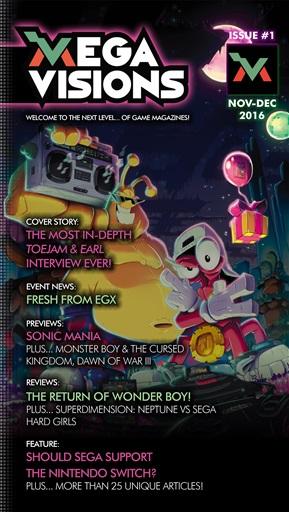 Mega Visions Magazine Preview