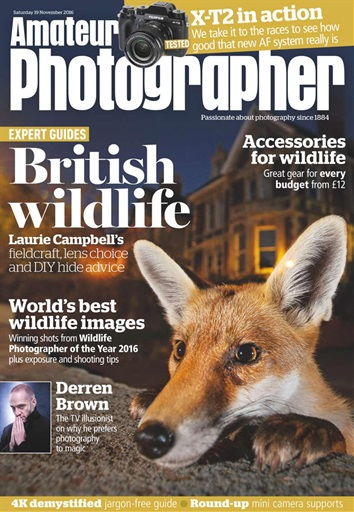 Amateur Photographer Preview