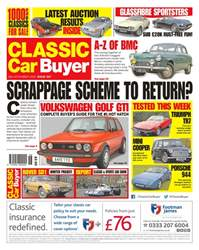 No. 357 Scrappage Scheme To Return? issue No. 357 Scrappage Scheme To Return?