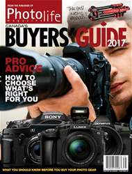 Photo Life Buyers' Guide 2017 issue Photo Life Buyers' Guide 2017