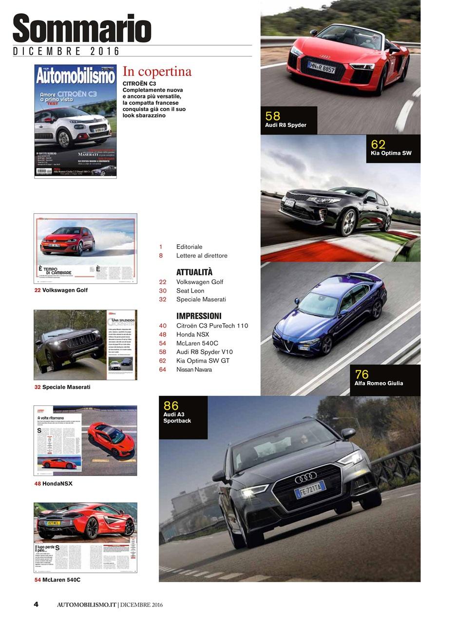 Automobilismo Magazine Automobilismo 12 2016