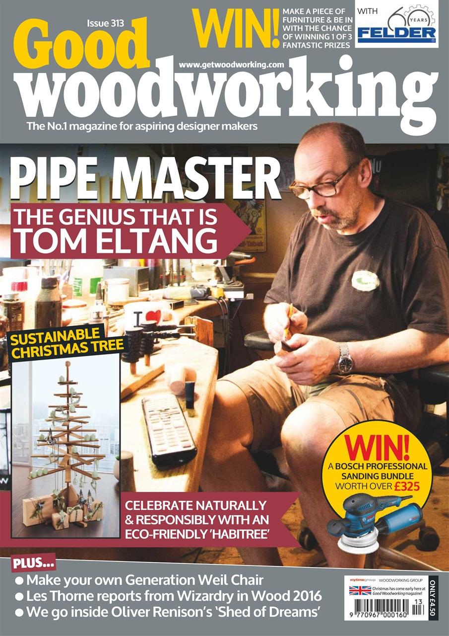 Good Woodworking Magazine Dec 16 Subscriptions Pocketmags