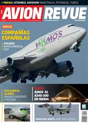 Avion Revue Internacional España Magazine Cover