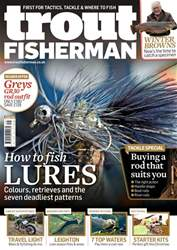 Trout Fisherman Magazine Cover