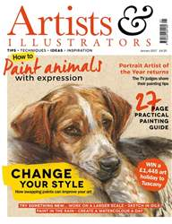 Artists & Illustrators Magazine Cover