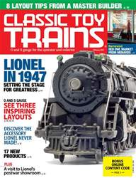 Classic Toy Trains Magazine Cover