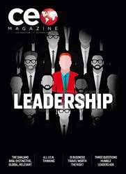 CEO Magazine Magazine Cover