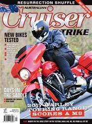 Cruiser & Trike issue Issue#8.3 Dec 2016