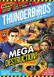 Thunderbirds Are Go Magazine Cover