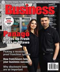 Canadian Business Franchise issue February 2017