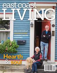 East Coast Living Magazine Cover