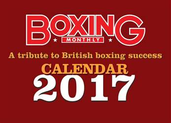 Boxing Calender 2017 issue Boxing Calender 2017