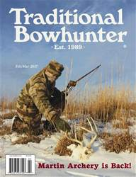 Traditional Bowhunter Magazine Magazine Cover
