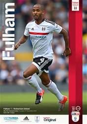 Fulham v Rotherham 16-17 issue Fulham v Rotherham 16-17