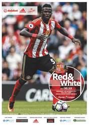 Sunderland FC Magazine Cover