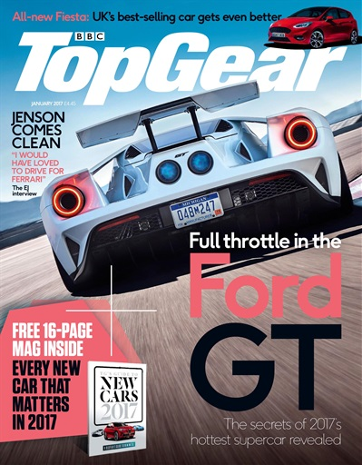 top gear magazine janaury 2017 subscriptions pocketmags. Black Bedroom Furniture Sets. Home Design Ideas