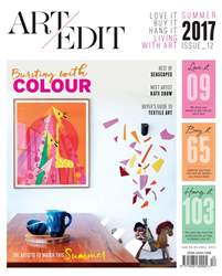 Art Edit | Summer issue 12 issue Art Edit | Summer issue 12