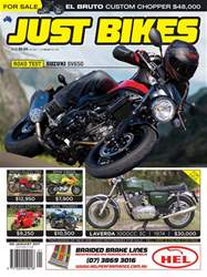 JUST BIKES Magazine Cover
