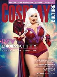 Cosplay Culture Magazine Cover