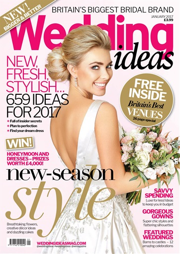 Wedding Ideas magazine January 2017 Subscriptions Pocketmags