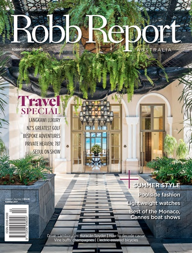 Robb Report Australia & New Zealand Preview