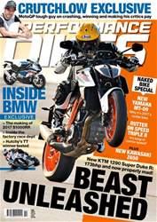 Performance Bikes Magazine Cover