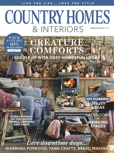 Country Homes And Interiors country homes & interiors magazine - february 2017 subscriptions