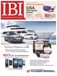 International Boat Industry Magazine Cover