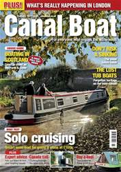 Canal Boat Magazine Cover