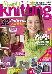 Simply Knitting Magazine Cover