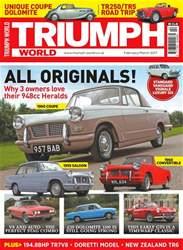 Triumph World Magazine Cover