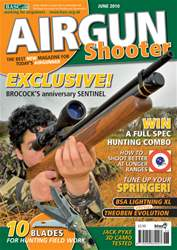 Airgun Shooter Magazine Cover