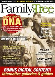 Family Tree February 2017 issue Family Tree February 2017