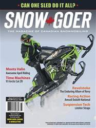 Snow Goer Canada Magazine Cover