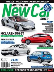 Australian New Car Buyer Magazine Cover