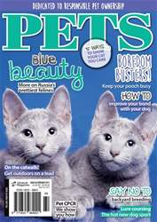 Pets Magazine Cover